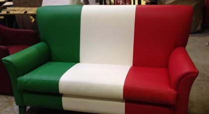 Leather Sofa Customised